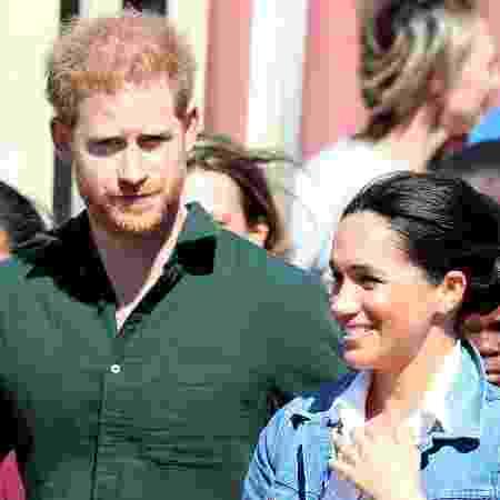 Príncipe Harry e Meghan Markle caminham pelas ruas de Cape Town, na África do Sul - Mike Hutchings/Reuters