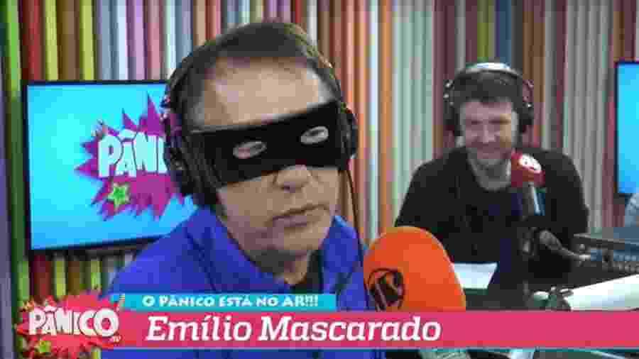 Emílio Mascarado - Reprodução/Twitter