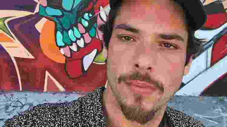 Gian Luca Ewbank tem 29 anos e é artista plástico - Reprodução/Instagram - Reprodução/Instagram