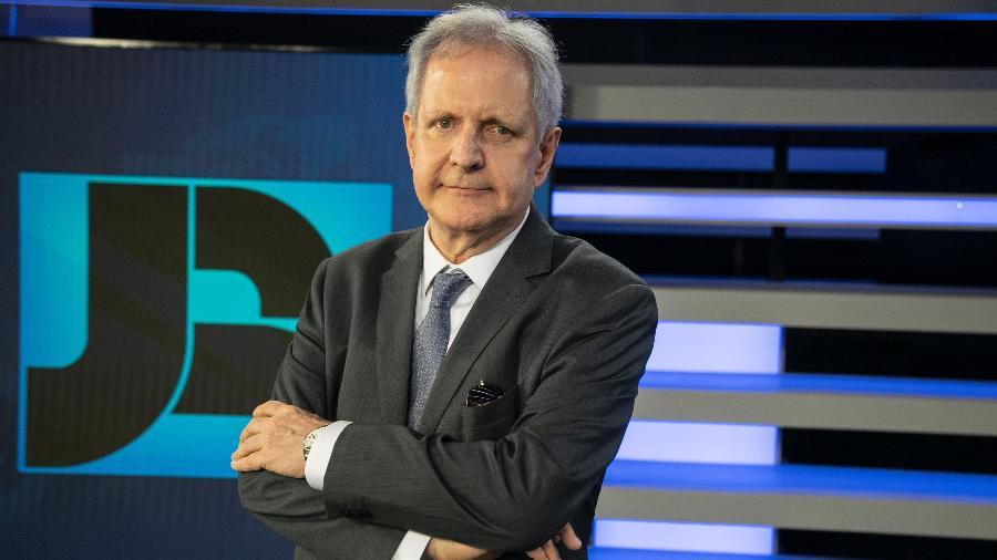 Augusto Nunes é o novo contratado da Record - Edu Moraes/Record TV