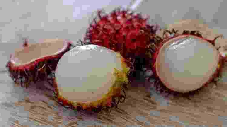 rambutão frutas exóticas - iStock - iStock