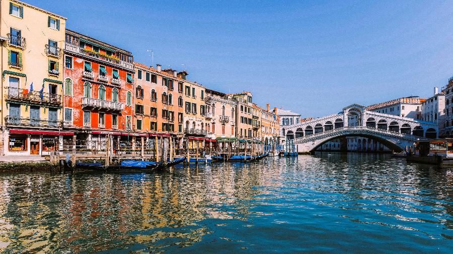 Veneza fica na região de Vêneto, no nordeste da Itália - Andrea Pattaro/AFP