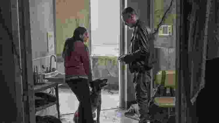 Lydia e Negan em 'The Walking Dead' - Divulgação - Divulgação