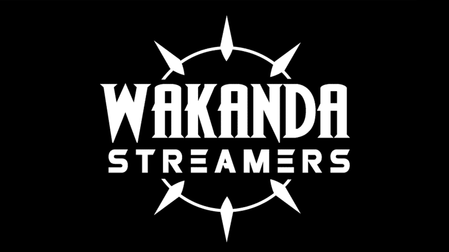 Wakanda Streamers é um projeto nascido em 2018 voltado para reunir e divulgar streamers negros(as) - Divulgação/Wakanda Streamers