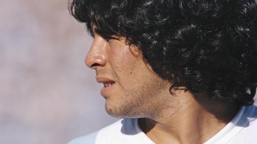 Diego Maradona não detinha os direitos de sua própria marca; empresa do advogado controla os registros - Duncan Raban/Allsport/Getty Images
