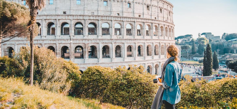 Coliseu, em Roma: um dos pontos turísticos vazios esse ano - Getty Images/EyeEm