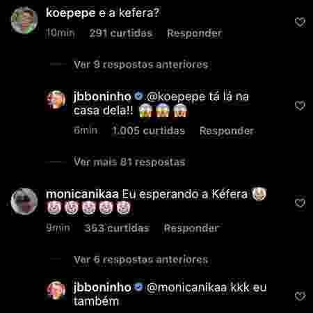 Boninho tira sarro de questão sobre Kéfera no 'BBB 21' - Reprodução/Instagram - Reprodução/Instagram