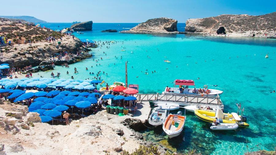 The Blue Lagoon, Malta - Paul Biris/Getty Images