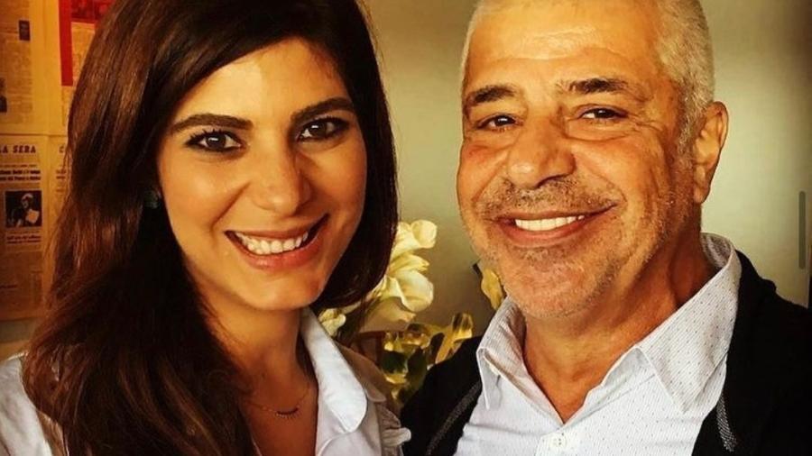 Andréia Sadi parabeniza Lulu Santos - Reprodução/Instagram
