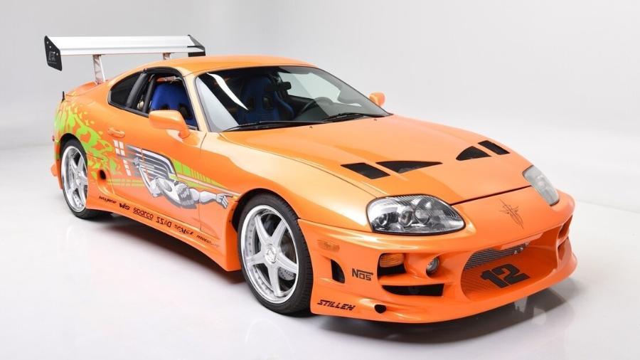 Toyota Supra de Velozes e Furiosos 1 - Divulgação