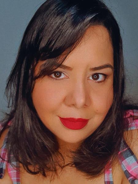 Michelle Alves fala sobre fetiche que compartilhou com companheiro: foram para o motel com ele fantasiado de personagem do Cavaleiros do Zodíaco - Arquivo pessoal