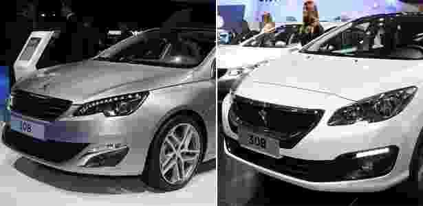 Peugeot 308 francês e argentino - Murilo Góes/UOL - Murilo Góes/UOL