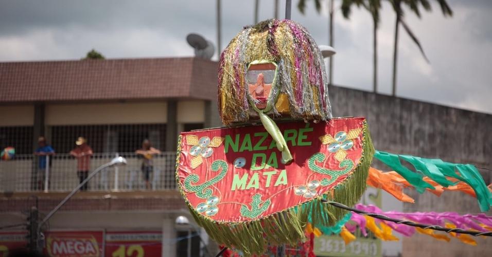8.fev.2016 - O Encontro Nacional de Maracatus acontece em Nazaré da Mata, cidade localizada a 65 km do Recife