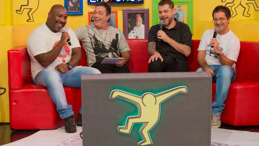 """Ângelo, Tatola, Dennys e Ricardinho formam a trupe do """"Encrenca""""  - Divulgação/RedeTV!"""