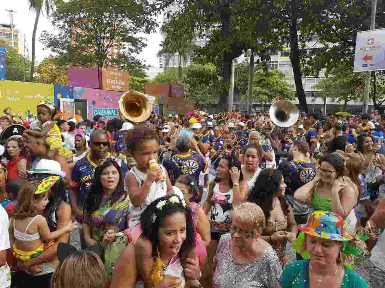 Banda de Ipanema infantil desfilou nesta segunda-feira pelas ruas do Rio de Janeiro - Divulgação