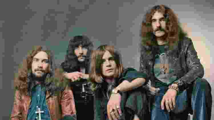 A banda Black Sabbath - Reprodução - Reprodução