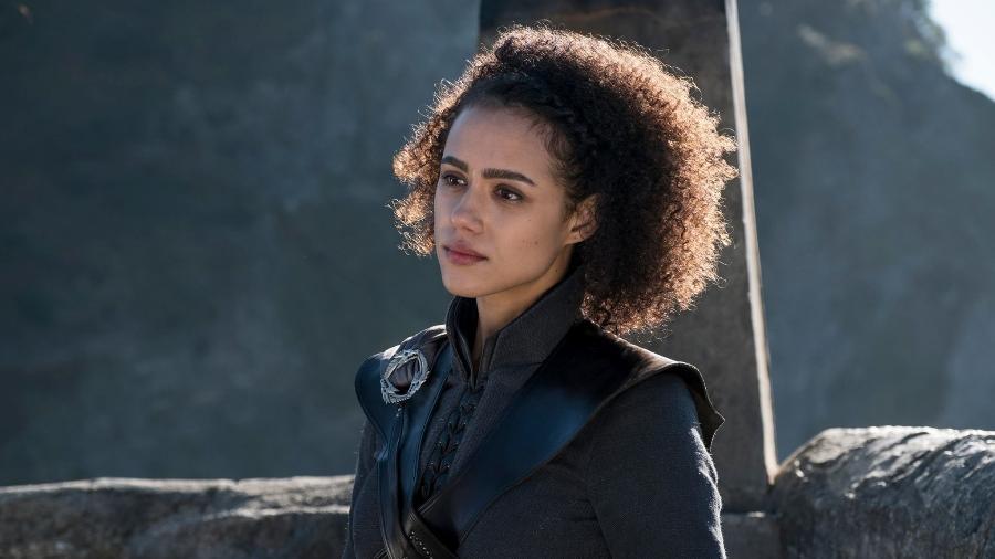 """Missandei em cena da sétima temporada de """"Game of Thrones"""" - Divulgação/HBO"""