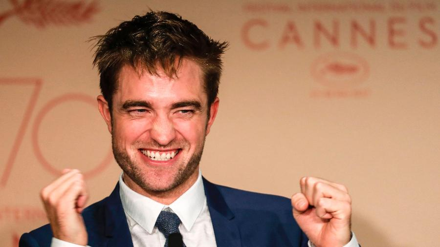 O ator britânico Robert Pattinson - Laurent Emmanuel/AFP
