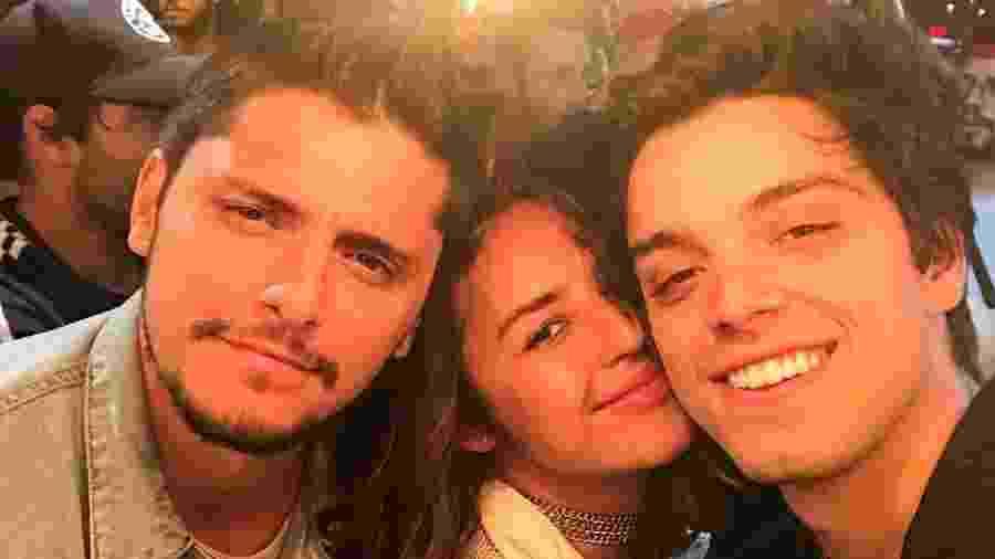 Bruno Gissoni, Yanna Lavigne e Rodrigo Simas - Reprodução/Instagram