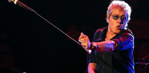 Roger Daltrey, vocalista do The Who, em passagem pelo Brasil em 2017