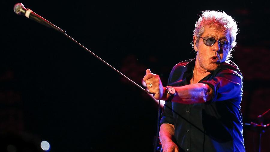Roger Daltrey, vocalista do The Who, em passagem pelo Brasil em 2017 - Marco Antônio Teixeira/UOL