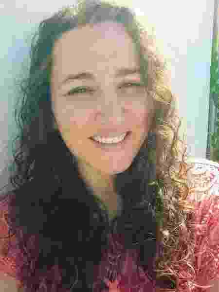 A catarinense Carla Cristina, 37 anos - Arquivo pessoal