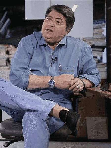Datena comenta Copa do Mundo com bom humor - Marcelo Ferraz/UOL