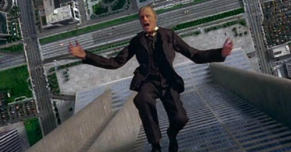 "Cena de ""RoboCop - O Policial do Futuro"" (1987)"