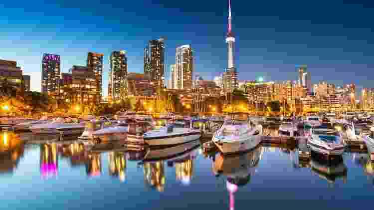A cidade de Toronto, no Canadá - iStock