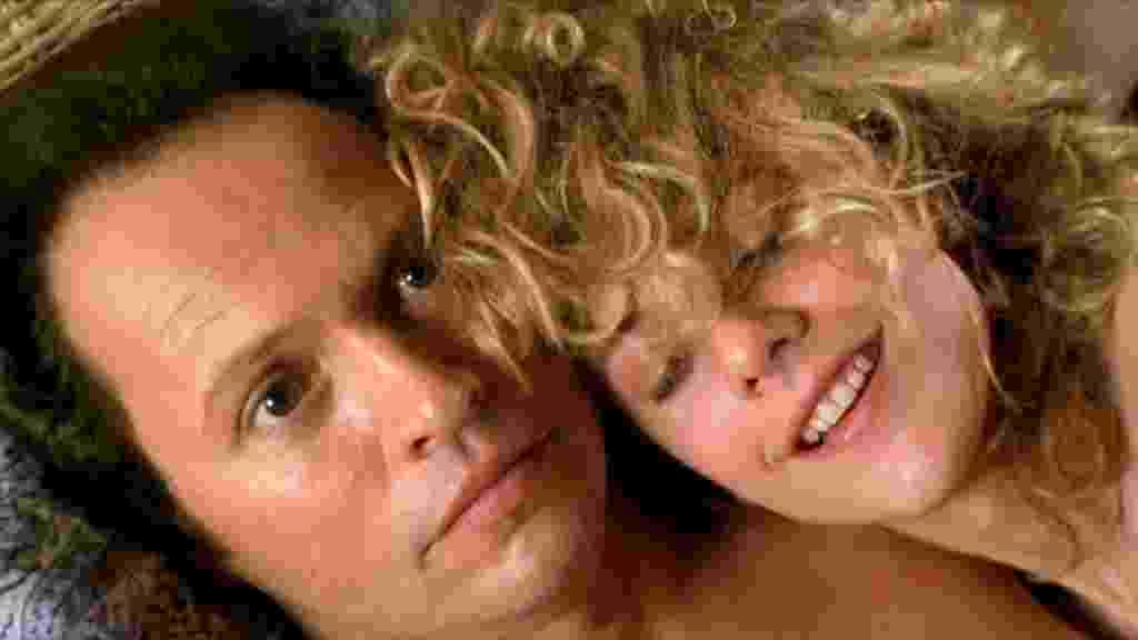 """Meg Ryan e Billy Crystal em cena de """"Harry e Sally - Feitos Um para o Outro"""" (1989) - Divulgação"""