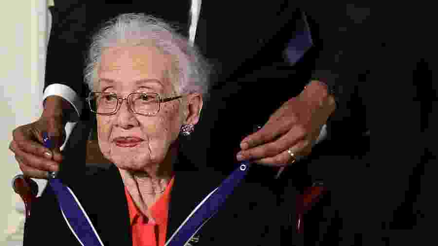Katherine Johnson  - Getty Images