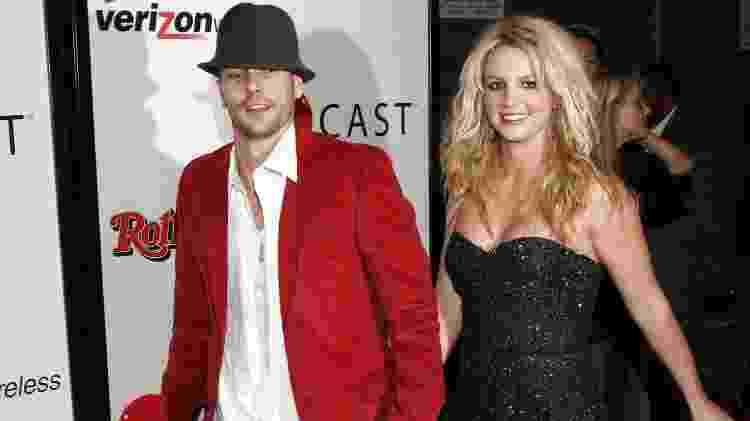 Britney Spears e Kevin Federline - Matthew Simmons/Getty Images - Matthew Simmons/Getty Images