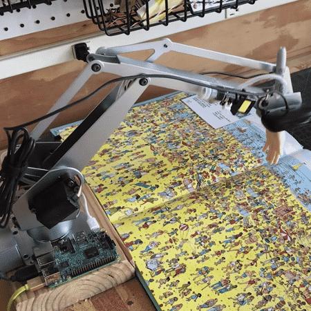 Agência criou robô que descobre Wally em menos de 5 segundos - Reprodução