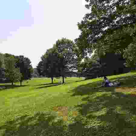 Parque tem área para prática de esportes e para piqueniques - Reprodução/Facebook