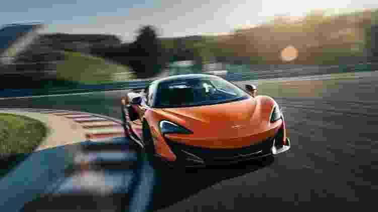 McLaren 600LT - Divulgação - Divulgação