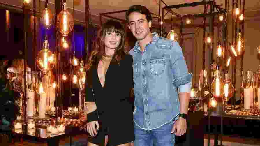 Paula Fernandes e o novo namorado, o empresário Gustavo Lyra - Manuela Scarpa/Brazil News