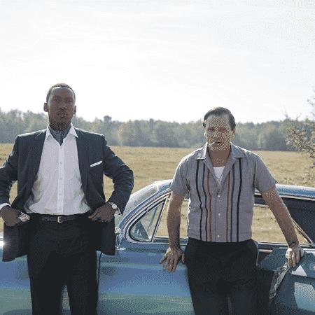 """Mahershala Ali e Viggo Mortensen em cena de """"Green Book - O Guia"""" - Reprodução"""
