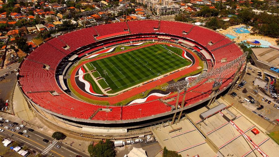 El estadio Morumbi es hogar del Sao Paulo Futebol Clube. Foto: Luis Moura/WPP.