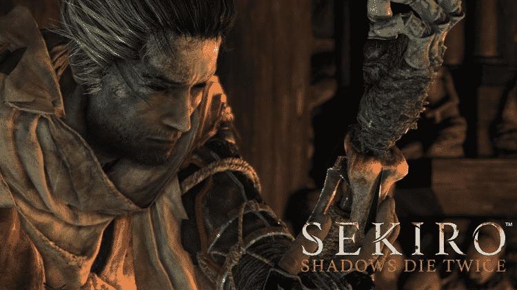 """""""Sekiro"""" está chegando e deve ganhar novo trailer na TGA. O jogo é produzido pela Activision e desenvolvido pela From Software, a mesma de """"Dark Souls"""" e """"Bloodborne"""". - Reprodução"""