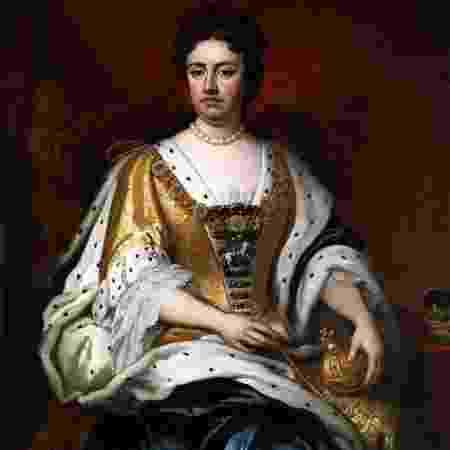 Ana, que foi rainha da Inglaterra - Getty Images via BBC - Getty Images via BBC