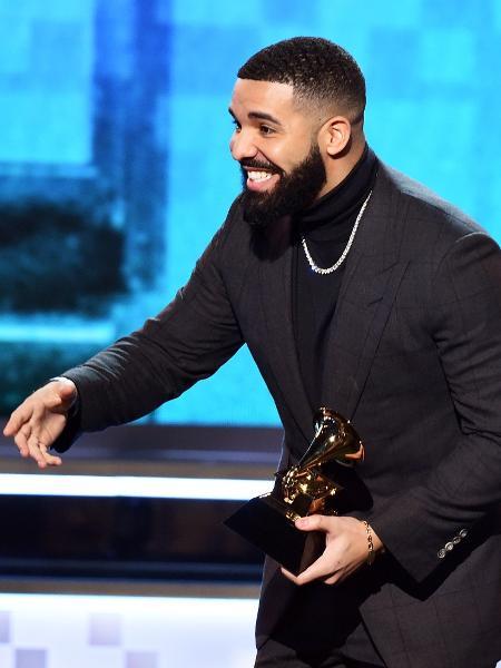 Drake recebe prêmio de melhor canção de rap no Grammy 2019 - Getty Images