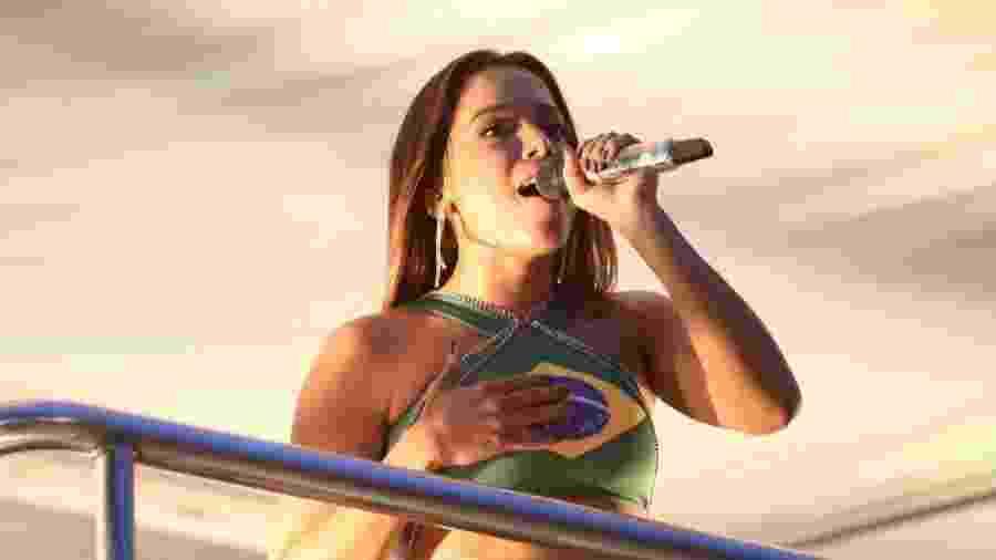 Anitta comanda o Bloco das Poderosas no pós-Carnaval do Rio e de São Paulo - Gabriela Cais Burdmann/UOL