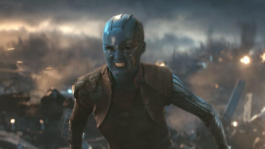 """Nebulosa (Karen Gillan) em """"Vingadores: Ultimato"""" - Reprodução"""