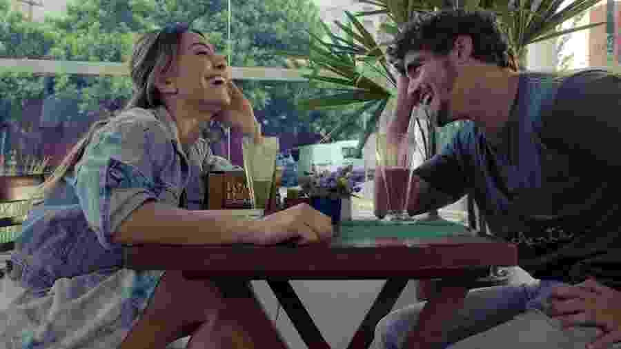 Sabrina Sato e Caio Castro em A Grande Vitória - Reprodução