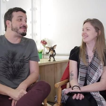 Rafael Cortez com a amiga Raquel Real - Reprodução/YouTube