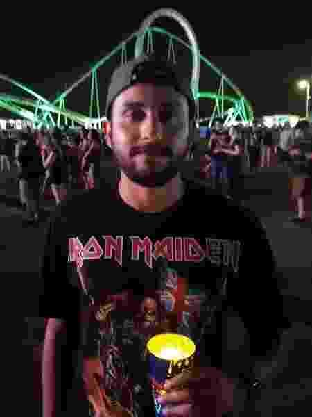 O engenheiro Eliseu Carneiro, fã de Iron Maiden - Leonardo Rodrigues/UOL
