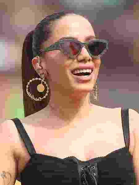 Anitta, durante apresentação no show de abertura da final da Libertadores - Raul Sifuentes/Getty Images