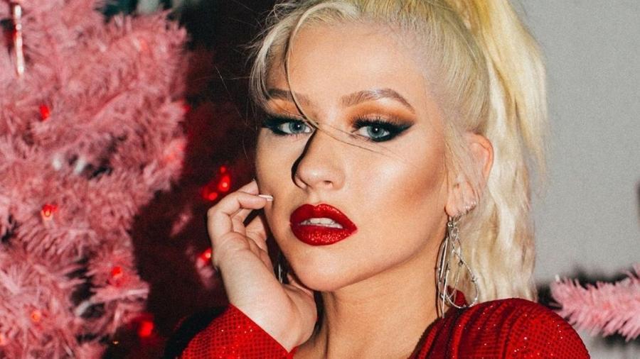 Christina Aguilera em foto recente no Instagram - Reprodução/Instagram