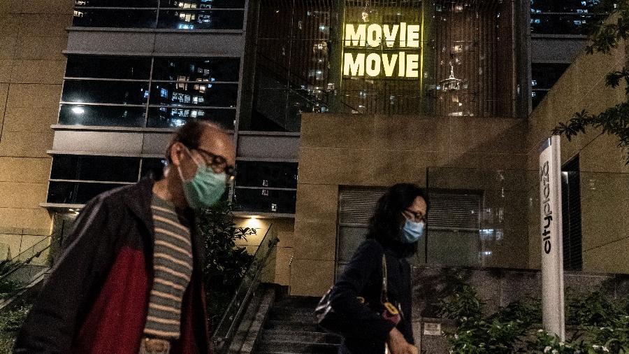 Cinema da China fechado durante a pandemia do novo coronavírus - Anthony Kwan / Getty Images