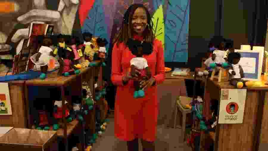 Jaciana Melquiades, fundadora da loja de bonecas Era Uma Vez o Mundo - Divulgação